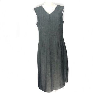 Grey Fitted Sheath Dress by Mossimo | Sz 10 |